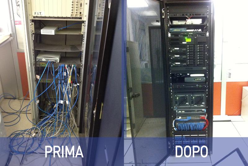 Fast MicroSystem - Cablaggio Strutturato (cabling - esempio